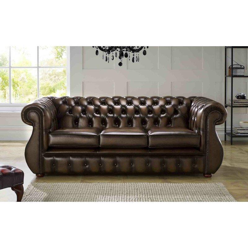 Astoria Grand Colvard Genuine Leather 3