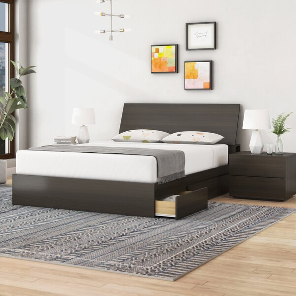 Modern  Mckain Platform 3 Piece Bedroom Set By Ivy Bronx No Copoun