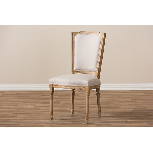 Haylie Upholstered Dining Chair by Ophelia & Co.