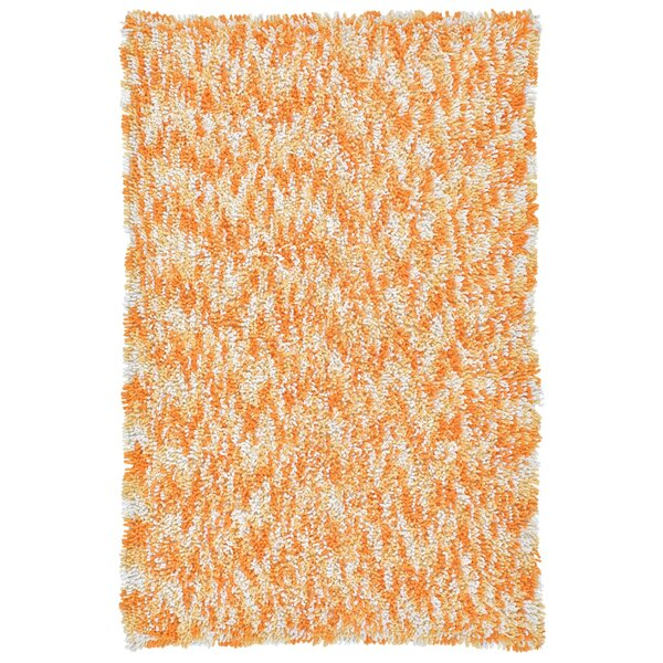 Shagadelic Hand Woven Orange Area Rug by St. Croix
