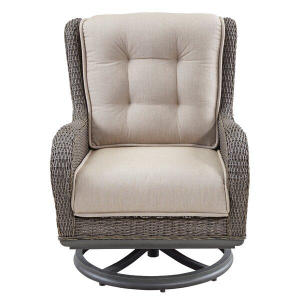 Dogwood Swivel Lounge Chair with Cushions (Set of 2) by Paula Deen Home