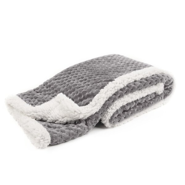 Farrow Popcorn and Sherpa Baby Blanket by Zoomie K