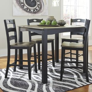 Compare & Buy Fager 5 Piece Pub Table Set By Darby Home Co