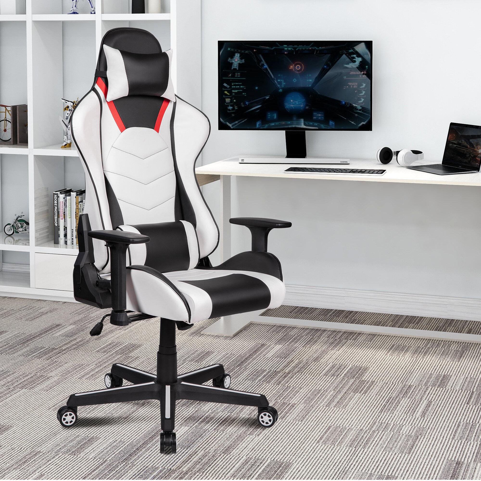 Orren Ellis High Back Gaming Chair Pc Office Chair Computer Racing Chair Wayfair