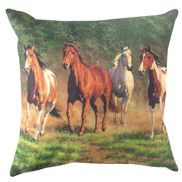 Evening Gold 2 Throw Pillow by Manual Woodworkers & Weavers