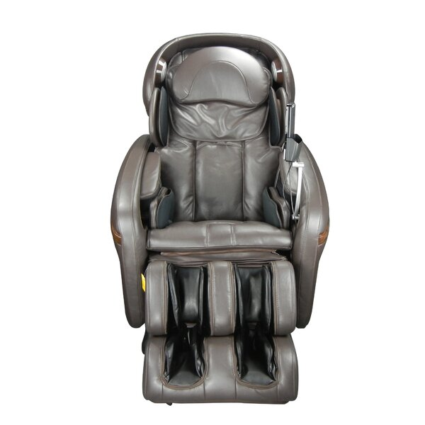 Reclining Adjustable Width Heated Massage Chair By Osaki