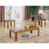 Jolliff 3 Piece Coffee Table Set by Charlton Home®