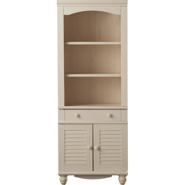 Pinellas Tall Standard Bookcase By Beachcrest Home.