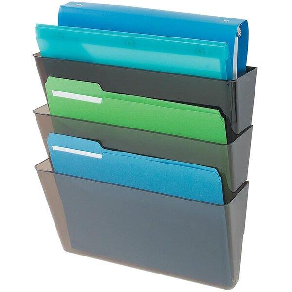 3 Letter Pocket Wall Pocket by Deflect-O Corporation