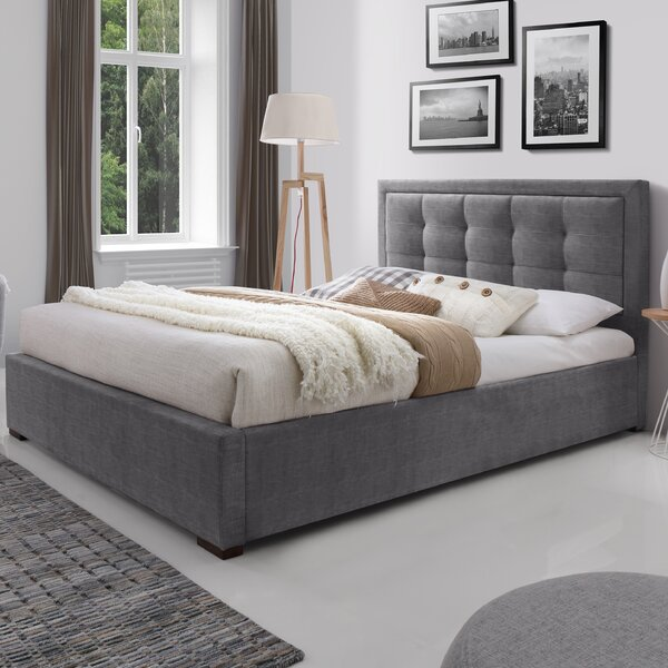Upholstered Platform Bed by J&M Furniture