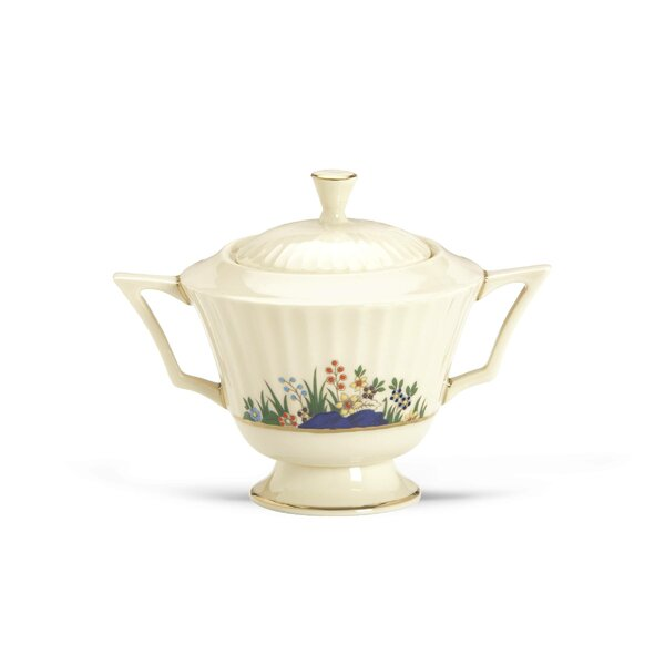 Rutledge Sugar Bowl with Lid by Lenox