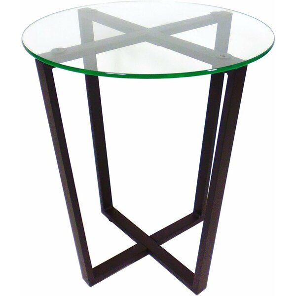 Metro Glass End Table by Mango Steam