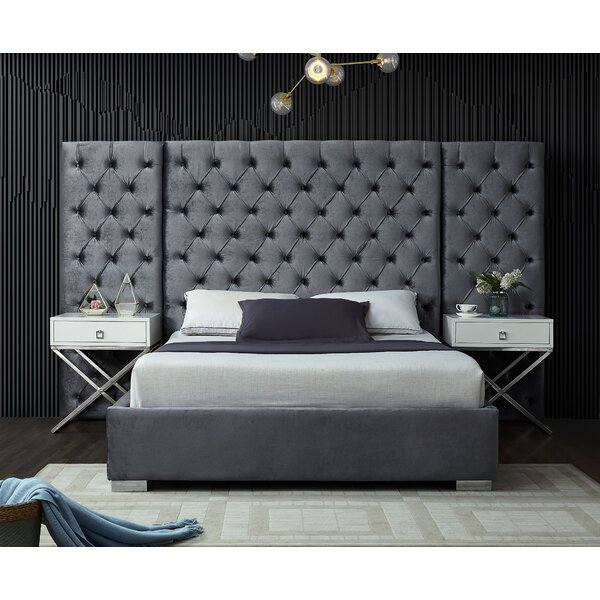 New Sanders Upholstered Platform Bed By Everly Quinn Discount