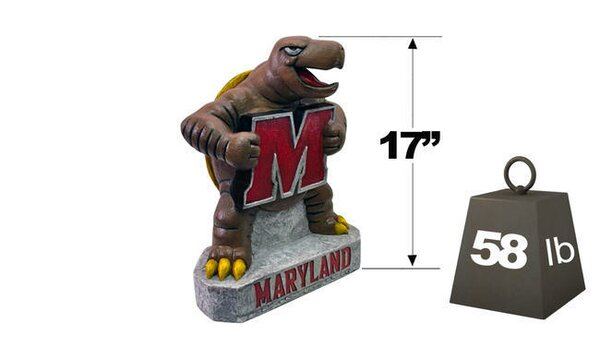 Maryland Terp College Mascot Statue by Henri Studio