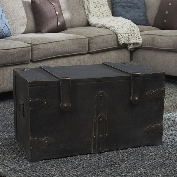 Baron Wooden Trunk by Williston Forge