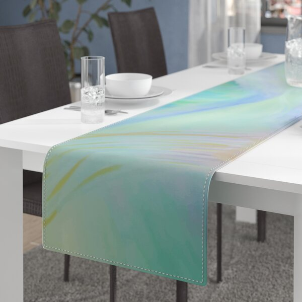 Theresa Giolzetti Jelly Fish Table Runner by East Urban Home
