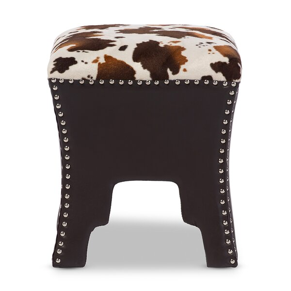 Vreeland Upholstered Accent Stool by Millwood Pines