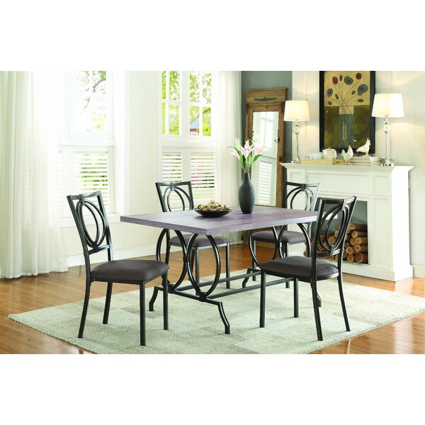 Mcnett 5 Piece Dining Set by Williston Forge