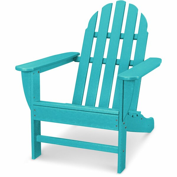 Keenan All-Weather Wood Adirondack Chair by Breakwater Bay Breakwater Bay