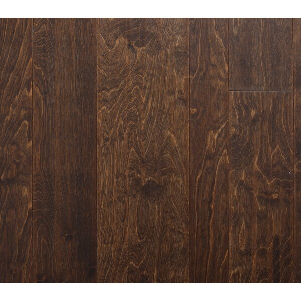 Lyon 7 Engineered Birch Hardwood Flooring in Brown by Branton Flooring Collection