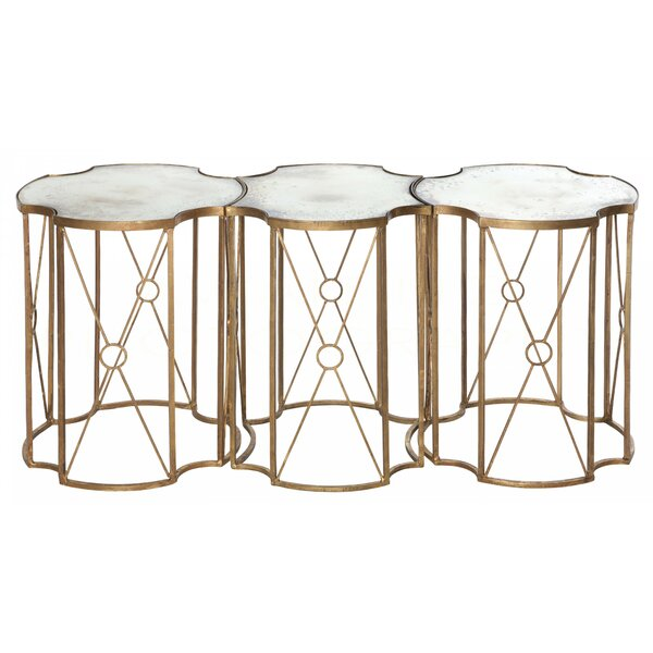 Marlene 3 Piece Coffee Table Set by Aidan Gray Aidan Gray