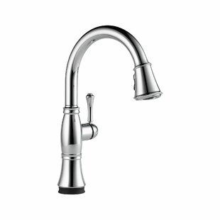 Save. Delta. Cassidy Pull Down Touch Single Handle Kitchen Faucet ...