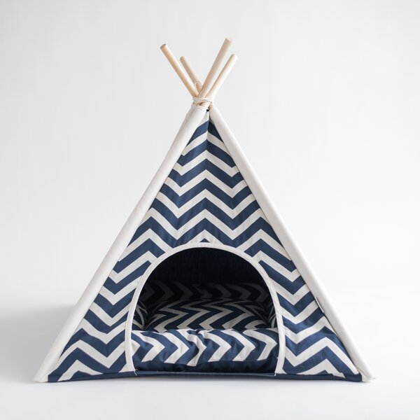 Pet Teepee Hooded Dog Bed by Nooee Pet