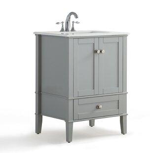 Inexpensive Chelsea 25 Single Bathroom Vanity Set BySimpli Home