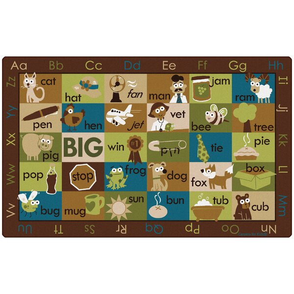Rhyme Time Kids Rug by Carpets for Kids