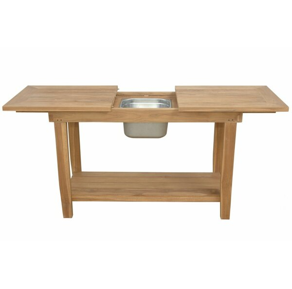 Nautilus Solid Wood Buffet & Console Table by Anderson Teak