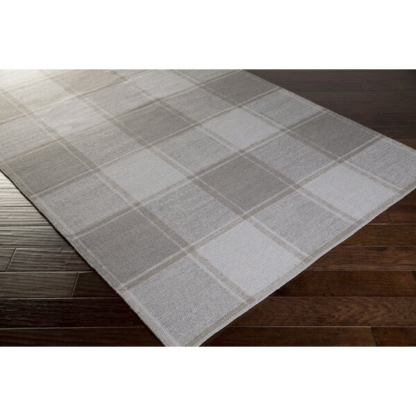Meyers Hand-Woven Gray Area Rug by August Grove
