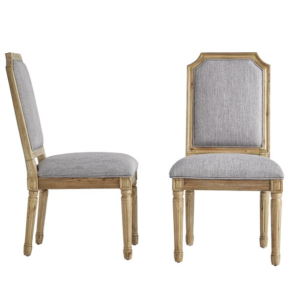Lachance Arched Upholstered Dining Chair (Set of 2) by Ophelia & Co.