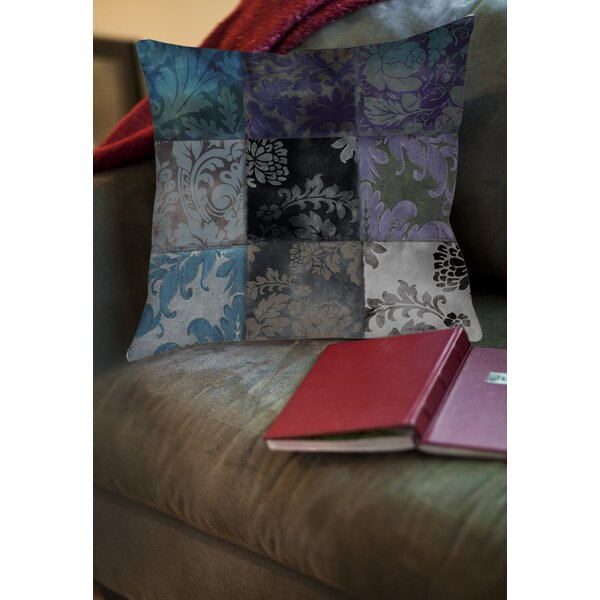 Rosalinda Printed Throw Pillow by Fleur De Lis Living