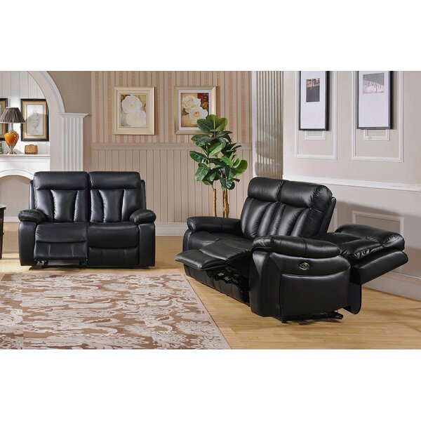Muoi Reclining 2 Piece Living Room Set by Red Barrel Studio