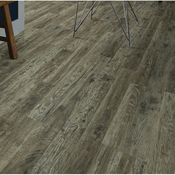 Simple Selects 8 x 51 x 6mm Laminate Flooring in Hickory Pebble by Shaw Floors