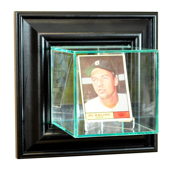 Wall Mounted Card Display Case by Perfect Cases and Frames