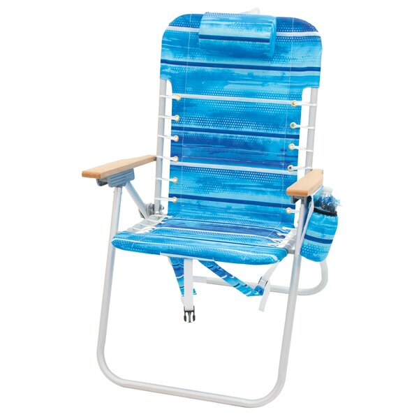 Brookfield 4-Position Backpack Folding Beach Chair by Freeport Park Freeport Park