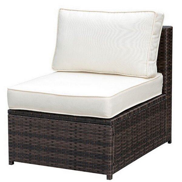 Lerner Patio Chair with Cushions by Breakwater Bay