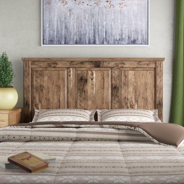 Petersfield Panel Headboard by Three Posts