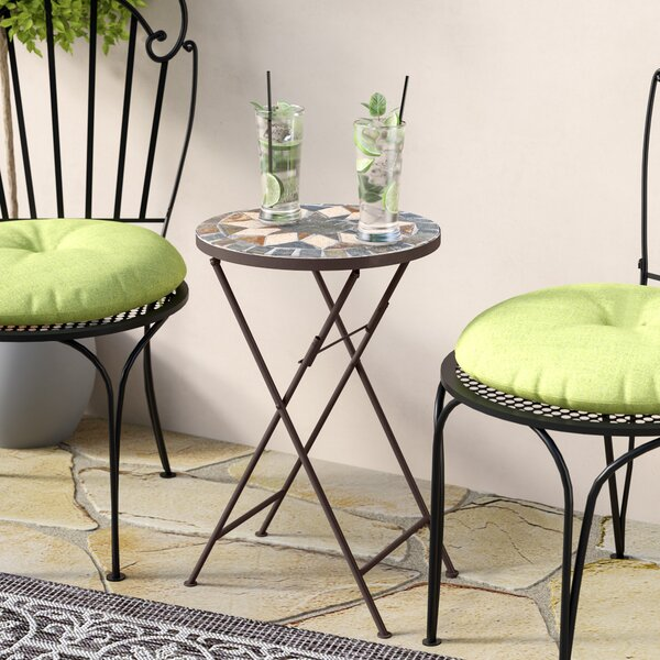 Rubicon Outdoor Side Table by Charlton Home