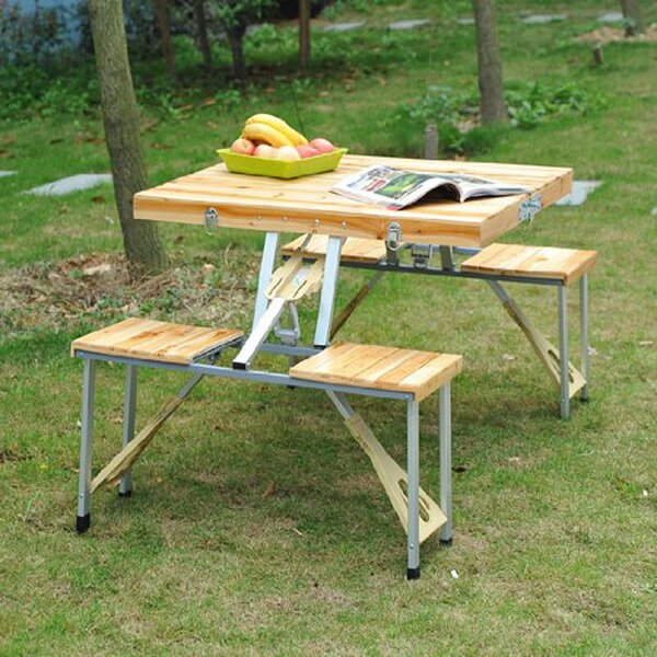 Corby Folding Picnic Table by Freeport Park