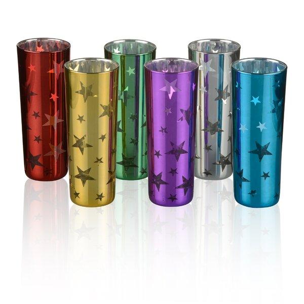 Kellett Stars 6 Piece 2.5 oz. Glass Shooter Glass by Brayden Studio