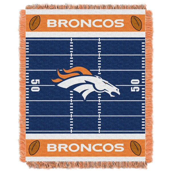 NFL Broncos Field Baby Blanket by Northwest Co.