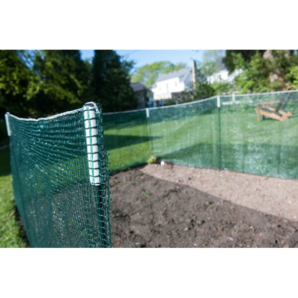 3 ft. H x 25 ft. W Deluxe Pocket 7 Piece Fencing by Venture Products