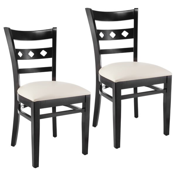 Ewell Solid Wood Dining Chair (Set of 2) by Red Barrel Studio