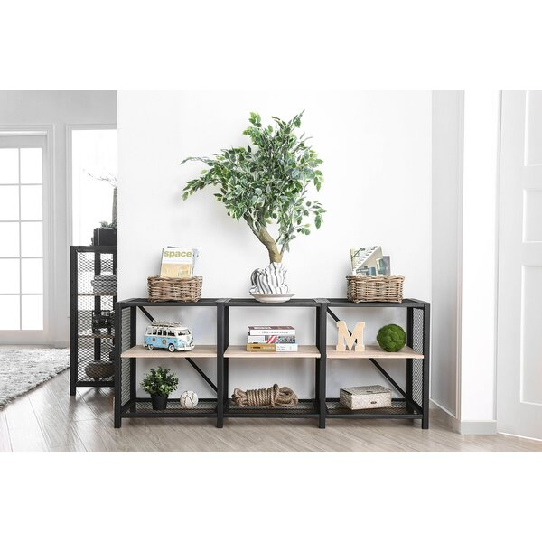 Deal Industrial 2 Tier Etagere Bookcase by Williston Forge