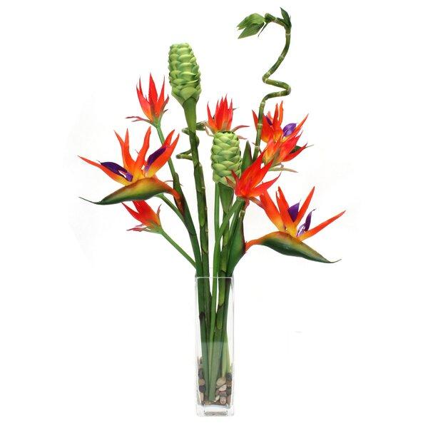 Tropical Waterlook Floral Arrangement by Dalmarko Designs