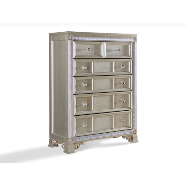 Chumbley 6 Drawer Chest by House of Hampton