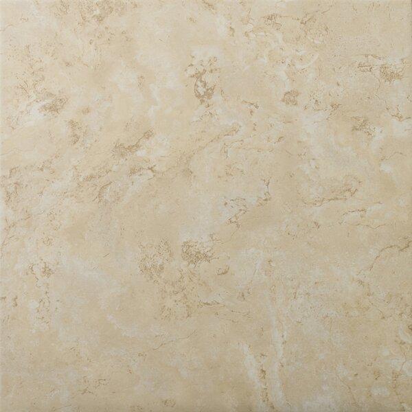 Cordova 13 x 13 Ceramic Field Tile in Crema by Emser Tile