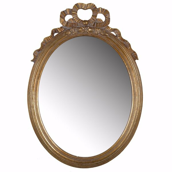 Holloway Antiquely Accent Mirror by Rosdorf Park